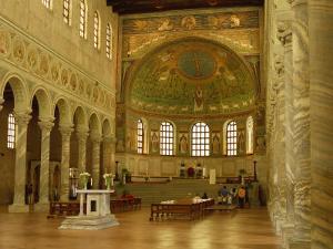 Apse of Sant'Apollinare in Classe, Near Ravenna, Emilia-Romagna, Italy by Richard Ashworth