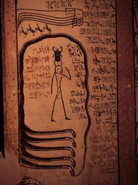 Interior of the Tomb of Tuthmosis III, Thebes, Egypt by Richard Ashworth