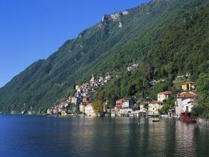 Lake Lugano, Lombardy, Italy by Richard Ashworth