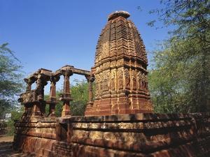 Ruins of an Ancient Surya Temple, Osian, Jodhpur, Rajasthan, India by Richard Ashworth
