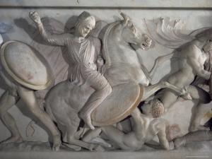Sarcophagus of Alexander the Great, Istanbul, Turkey by Richard Ashworth