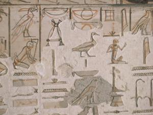 Tomb of Horemheb, Valley of the Kings, Thebes, Unesco World Heritage Site, Egypt by Richard Ashworth