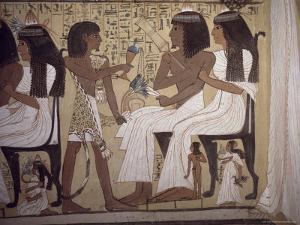 Tomb of Sennedjem, Deir El Medina, Thebes, Unesco World Heritage Site, Egypt, North Africa, Africa by Richard Ashworth