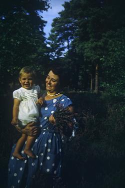 England Southend OnSea, 1960's Mother and Baby by Richard Baker
