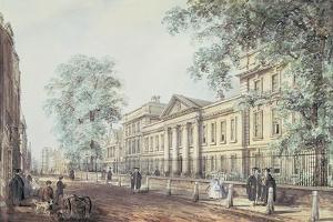 Pd.63-1958 Emmanuel College, Cambridge, Seen from St. Andrew's Street by Richard Bankes Harraden