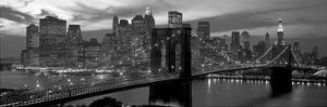Brooklyn Bridge and Skyline by Richard Berenholtz