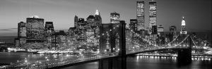 Brooklyn Bridge to Manhattan by Richard Berenholtz