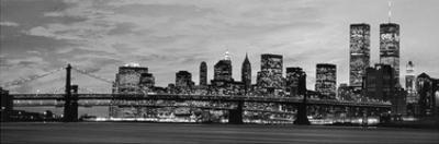 Manhattan at night by Richard Berenholtz