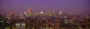 Manhattan at Night by Richard Berenholtz
