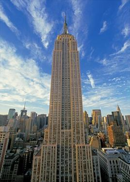 The Empire State Building, New York City by Richard Berenholtz