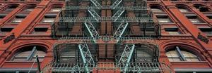 The Puck Building Facade, Soho, NYC by Richard Berenholtz