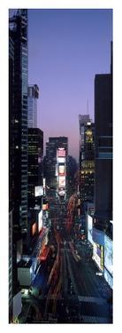 Times Square at night by Richard Berenholtz