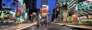 Times Square Facing North, NYC by Richard Berenholtz