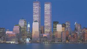 World Trade Center 1973-2001 by Richard Berenholtz