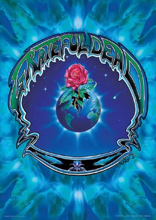 Grateful Dead- Earth Rose by Richard Biffle