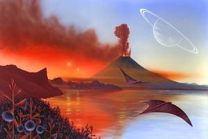 Alien Landscape, Artwork by Richard Bizley