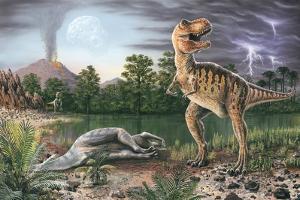 Cretaceous-Tertiary Extinction Event by Richard Bizley
