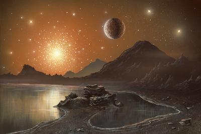 Globular Cluster, Artwork
