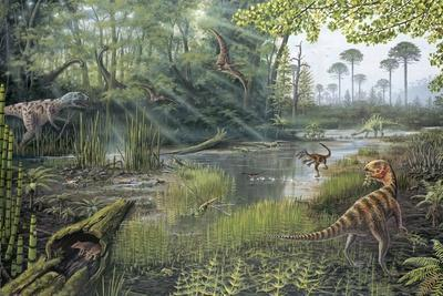 Jurassic Life, Artwork