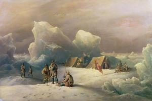 Arctic Expedition: the Most Northern Encampment of H.M.S. Alert, 1877 by Richard Bridges Beechey