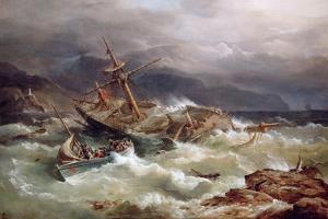 The Rescue by Richard Bridges Beechey