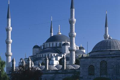 Sultan Ahmed Mosque, Istanbul. Also known as the blue Mosque