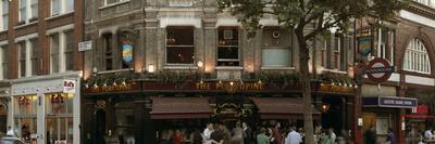 The Porcupine Pub Facade in Soho