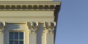 Window and Column Detail, Regents Park, London by Richard Bryant