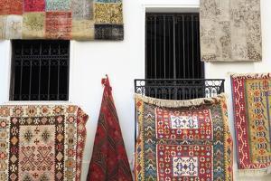 Carpet Store in Bodrum, Turkey, Anatolia, Asia Minor, Eurasia by Richard
