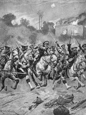 WW1 - Battle of St Quentin 1914 by Richard Caton II Woodville