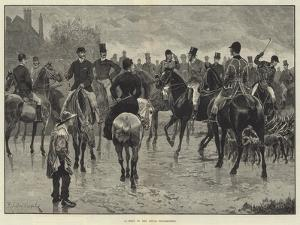 A Meet of the Royal Buckhounds by Richard Caton Woodville II