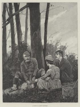 A Picnic by Richard Caton Woodville II