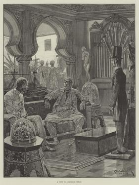 A Visit to an Indian Nawab by Richard Caton Woodville II
