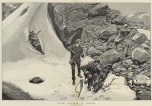 After Reindeer in Norway by Richard Caton Woodville II