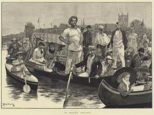 At Henley Regatta by Richard Caton Woodville II