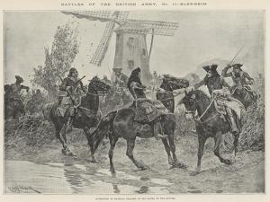 Battles of the British Army, Blenheim by Richard Caton Woodville II