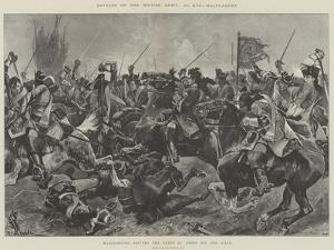 Battles of the British Army, Malplaquet by Richard Caton Woodville II