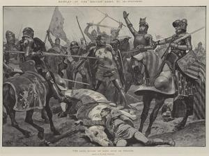 Battles of the British Army, Poitiers, the Last Stand of King John of France by Richard Caton Woodville II