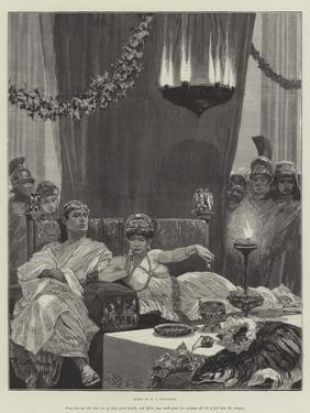 Cleopatra by Richard Caton Woodville II
