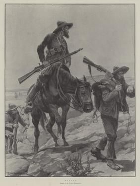 Hunted by Richard Caton Woodville II