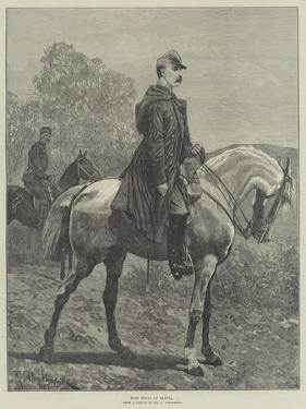 King Milan of Servia by Richard Caton Woodville II