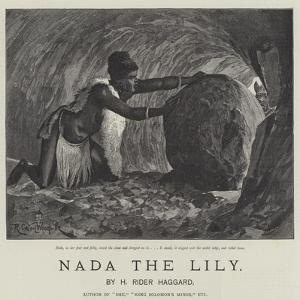 Nada the Lily by Richard Caton Woodville II