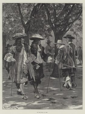 On the Mall in 1660 by Richard Caton Woodville II