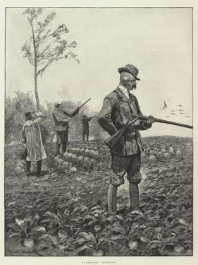 Partridge Shooting by Richard Caton Woodville II