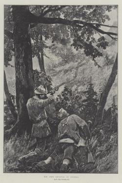 Roe Deer Shooting in Austria by Richard Caton Woodville II