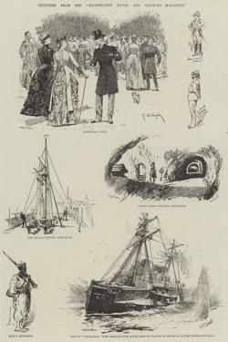 Sketches from the Illustrated Naval and Military Magazine by Richard Caton Woodville II