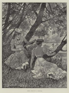 Syrens by Richard Caton Woodville II