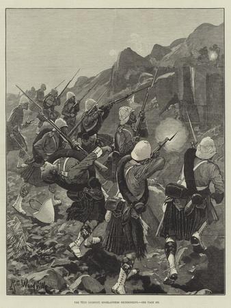 The 92nd (Gordon) Highlanders Skirmishing