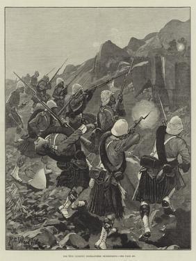 The 92nd (Gordon) Highlanders Skirmishing by Richard Caton Woodville II