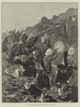 The 92nd (Gordon) Highlanders Skirmishing by Richard Caton Woodville II